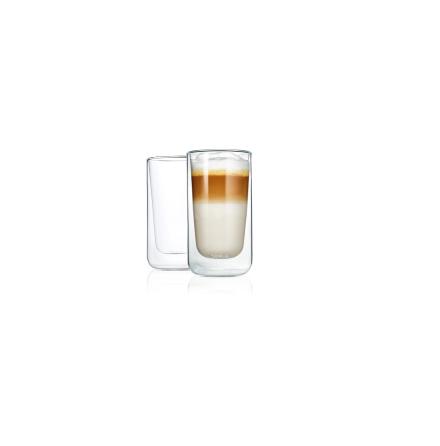 NERO, Latte Macchiatoglas 2-pack