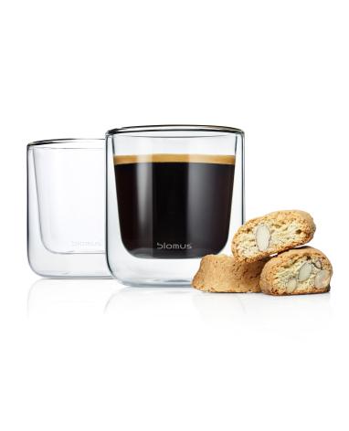 NERO, Kaffekopp isolerande glas, 2-pack