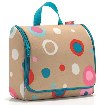 toiletbag XL funky dots 1