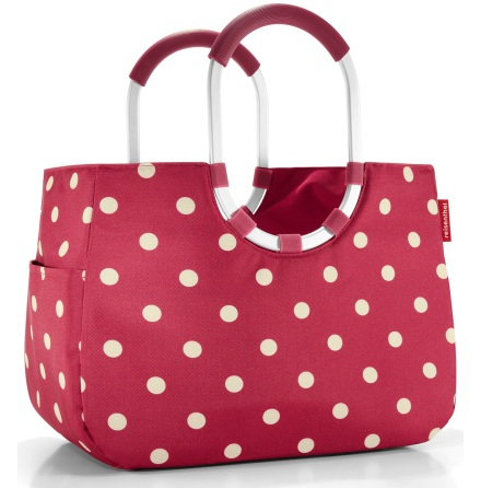 loopshopper L ruby dots