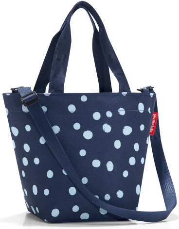 shopper XS spots navy