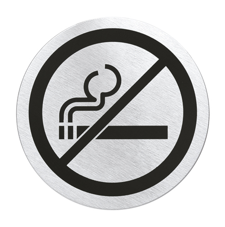 """SIGNO, Dörrskylt """"no smoking"