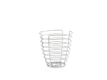 WIRES,basket H 24 cm, tall rou
