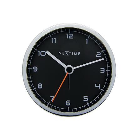 Company Alarm Väckarklocka ø9cm Svart/Metall