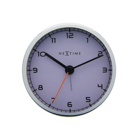 Company Alarm Väckarklocka ø9cm Vit/Metall
