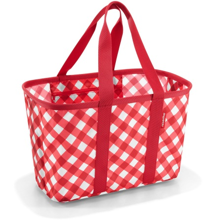mini maxi basket square red