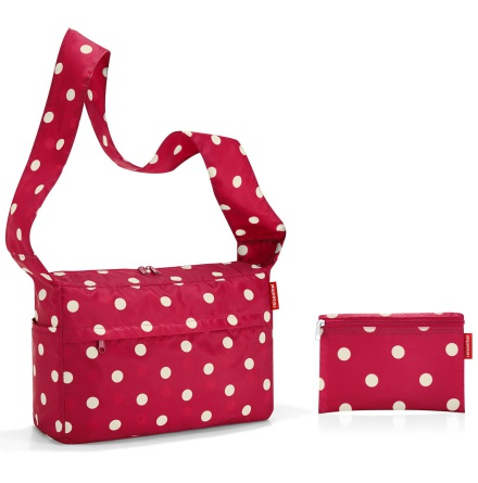 mini maxi citybag ruby dots