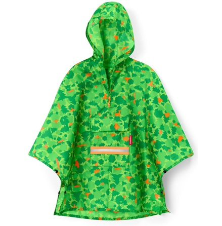 mini maxi poncho M kids greenw