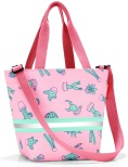 shopper XS kids cactus pink
