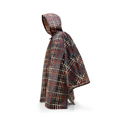 mini maxi poncho wool