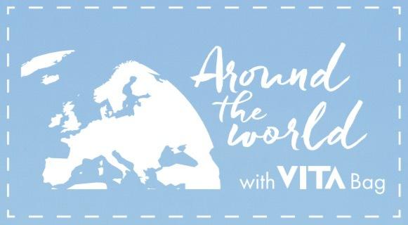 """Tävla med """"Around the world with VITA bag"""" för chansen till en lyxigt uppgraderad sommar!"""