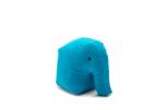 Happy Zoo Lekdjur/Sittsäck - Carl ljusblå