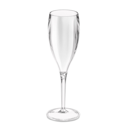 CHEERS, Champagneglas 4-pack, transparent