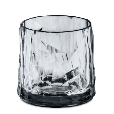 CLUB NO. 2 Glas 250ml, transparent grey