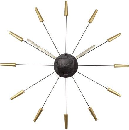 Plug Inn ø58 Väggklocka Guld