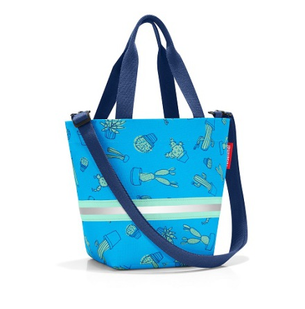 shopper XS kids cactus blue