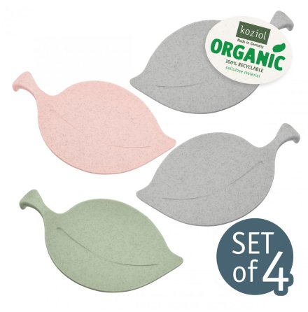 LEAF-ON, Serveringsfat, Organic mix set/4