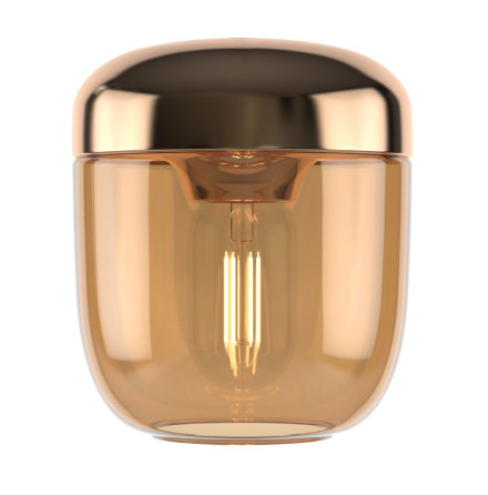 UMAGE Acorn Amber brass ø14 x 16cm