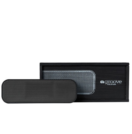 aGROOVE, Black edition, BT speaker,