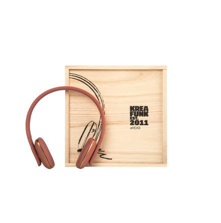 aHEAD - soft coral - BT headset - bluetooth