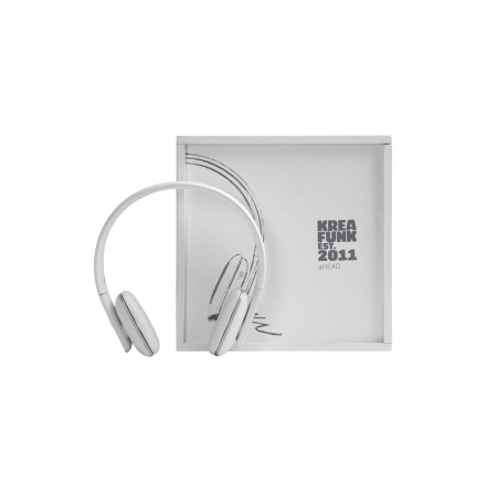 aHEAD - white edition - BT headset