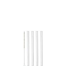 Sugrör Glas 15cm 4-pack + Borste