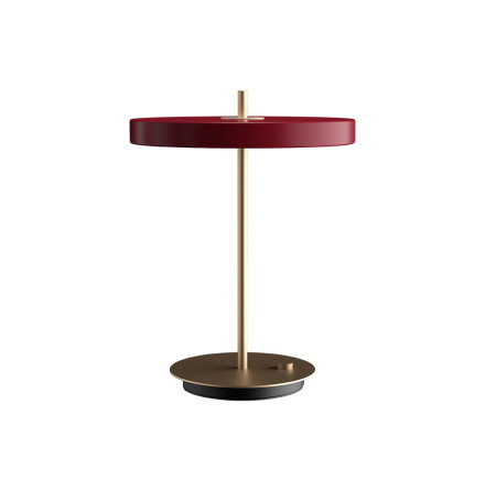 UMAGE Asteria Table Ruby Red